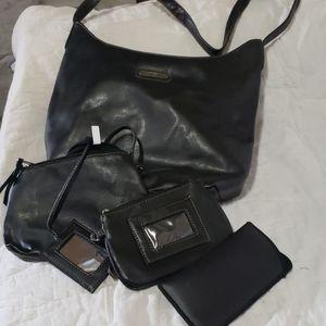 Jaclyn Smith shoulder bag set